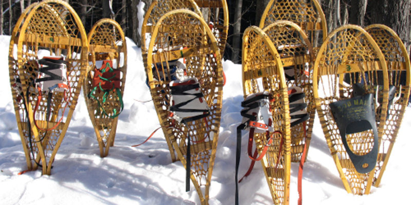 Snowshoe Making with Alan Wernette, Ludington State Park Interpreter