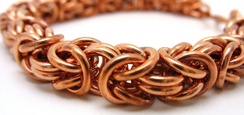 Byzantine Chainmaille Bracelets with Casey Bemis